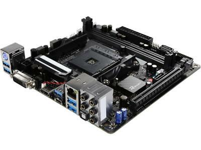 BIOSTAR X370GTN AM4 AMD X370 SATA 6Gb/s USB 3.1 HDMI Mini ITX AMD Motherboard