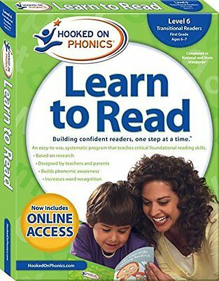 Hooked on Phonics Learn to Read - Level 6: Transitional Readers First Grade -