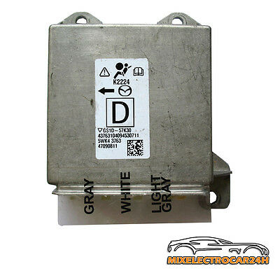 Mazda 6 2.2D  Air Bag Control Module GS1D 57K30 ⭐⭐⭐⭐⭐ 36 Monate Garante