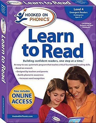 Hooked on Phonics Learn to Read - Level 4: Emergent Readers Kindergarten - Ages