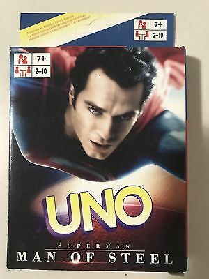 Super Man UNO CARDS Family Fun Playing Card Educational Toy Theme Board Game