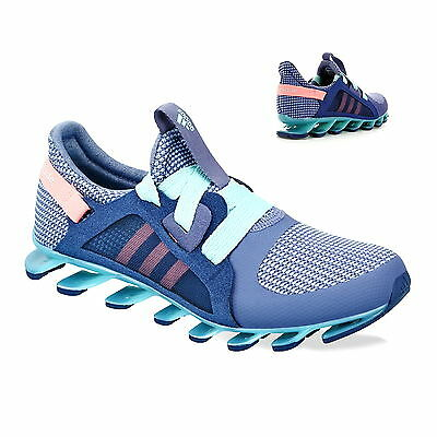 newest 4c815 f783b adidas Springblade Nanaya Damen Laufschuhe Training Sneaker AF5284 Purple  Mint