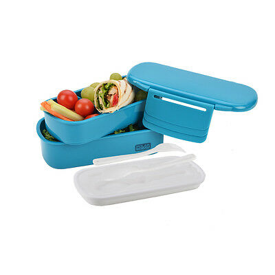 Polar Gear Novo Bento Lunch Box With 1.1L Ice Pack Turquoise Official Licensed