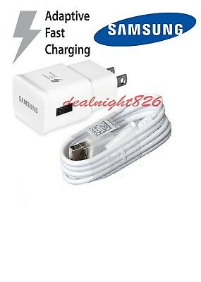 Original Samsung Galaxy S8 S8plus Adaptive Fast OEM Type -C+ Fast Charger White
