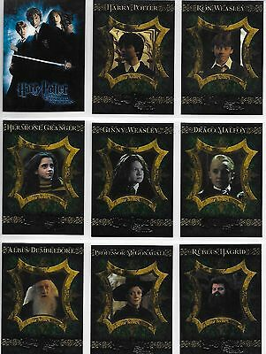 Harry Potter and the Chamber of Secrets 1-90 Complete Base Card Set