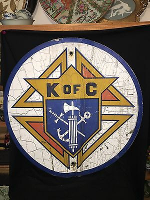 "29 3/4"" Knights Of Columbus Sign"