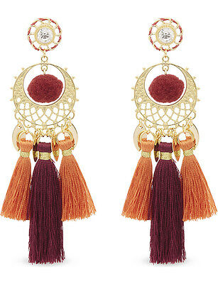 92d198fdb REBECCA MINKOFF DRAMA Pave Fringe Chandelier Drop Earrings - $28.99 ...