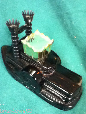Steamboat paddle wheel glass Avon cologne after shave bottle bottles 1 WE8