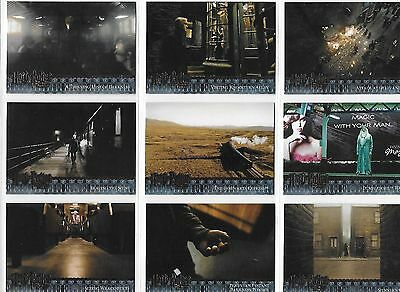 Harry Potter and the Half-Blood Prince Update 91-180 Complete Base Card Set