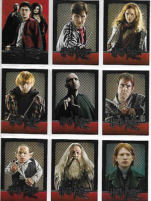 Harry Potter and the Deathly Hallows Part 2 54 Card Base Set