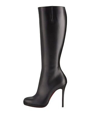 promo code 1a8f4 abac3 CHRISTIAN LOUBOUTIN BOTALILI Tall Red Sole Boot