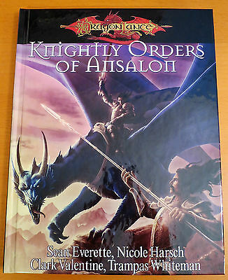 Dragonlance Knightly Orders of Ansalon - Dungeons & Dragons 3.5 - NEW