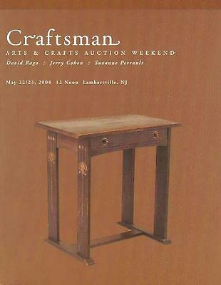 Rago /// Craftsman Arts & Crafts Stickley Auction Catalog May 2004