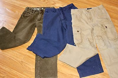 Lot of 3 Pants Size 5 Crewcuts, Ralph Lauren