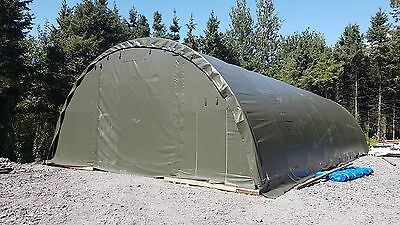 Brand New Galvanized Steel Shelter Storage Tent / Car or Equipment Canopy