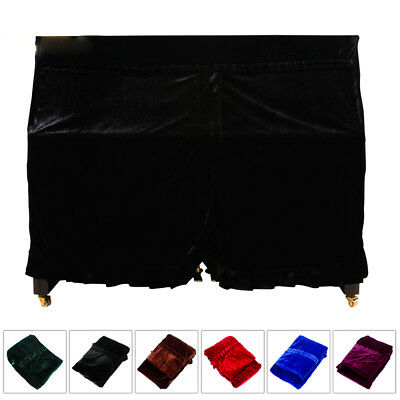 Piano Cover Plush Piano Dust proof Cover Dust Guard Tool Upright pianos cover