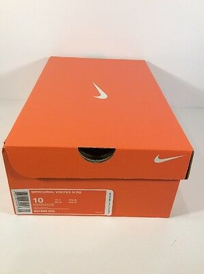 Nike EMPTY REPLACEMENT SHOE BOX WITH TISSUE PAPER Mercurial Vortex III FG Sz. 10