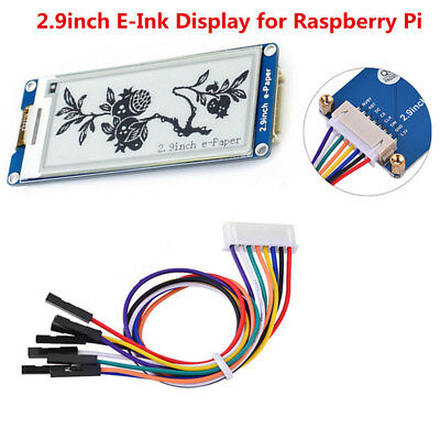 2.9inch E-Ink Display Module 296x128 Supports Partial Refresh w/SPI Interface BD