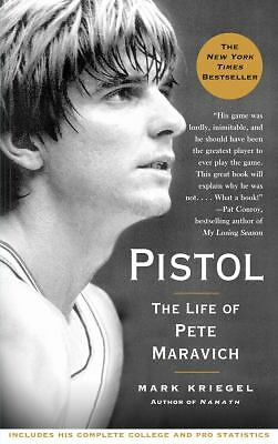 Pistol: The Life of Pete Maravich by Mark Kriegel Paperback Book (English)