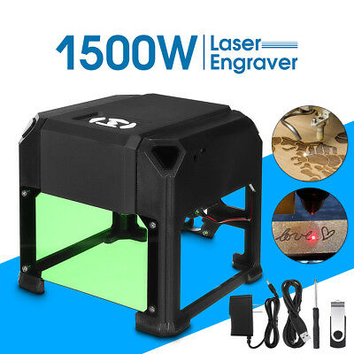 K3 1500mW 80x80mm USB Laser Cutter Engraver Printer Carver DIY Engraving Machine