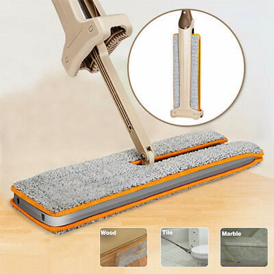 Lazy Hands-Free Double-Side Flat Mop Washable Mop Floor Cleaning Tool Favor New
