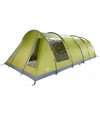 Vango Iris 500 (also fits Icarus 500) Front Awning, Herbal green, Brand New (DT)