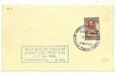AB137 1933 South Africa *IMPERIAL PRESS CONFERENCE* CDS Cover {samwells-covers}