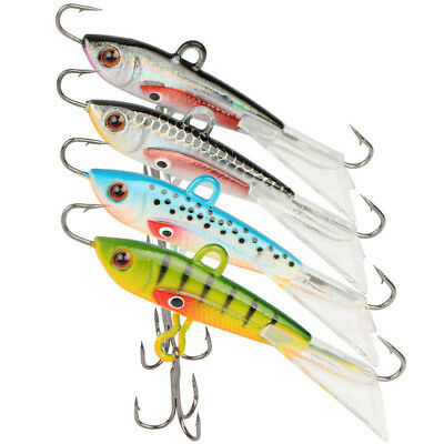 Goture Fishing Lures Ice Jig Minnow Hard Artificial Bait 4pcs/lot