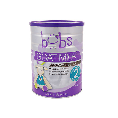 NEW BUBS GOATS MILK FORMULA STAGE 2 FOLLOW ON 800g
