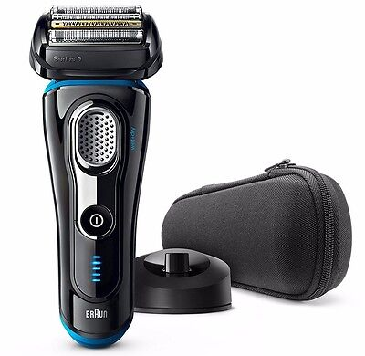 Braun Series 9 9240s Men's Wet & Dry Electric Foil Cordless Shaver - Black ✔NEW✔