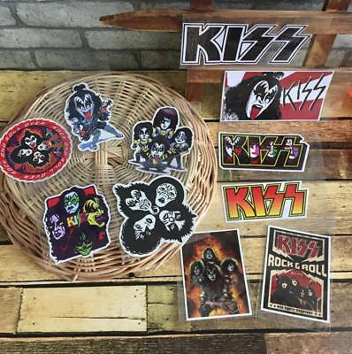 Kiss Band Laptop Phone Skateboard Bumper Luggage Waterproof Vinyl Decal Sticker