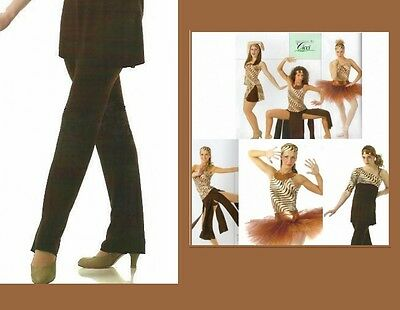 Animal Attraction Dance Costume Brown TAP PANTS ONLY Clearance CM,AM,AL,AXL