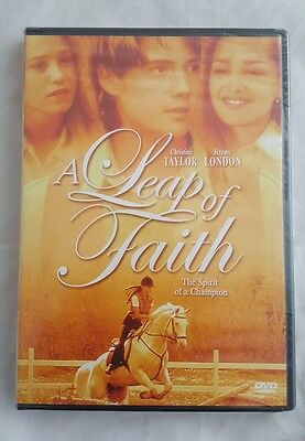 A Leap of Faith (DVD, 2006) horse cowboy Jeremy London movie new DVD