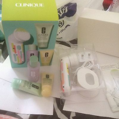 Clinique Sonic System Purifying Cleansing Brush System+Set/Holidays/Birthday/1,2