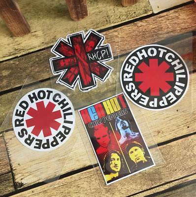 Red Hot Chili Peppers Laptop Skateboard Luggage Waterproof Vinyl Decal Sticker