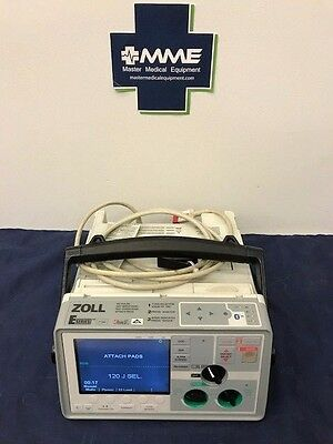 Zoll E Series, 12 Lead, Pacing, NIBP, SPO2, EtCO2, Advisory