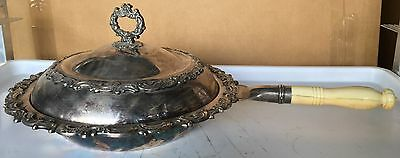 """Vintage Gorham Electric Silver Plate Chafing Dish Covered  """"ra112"""""""
