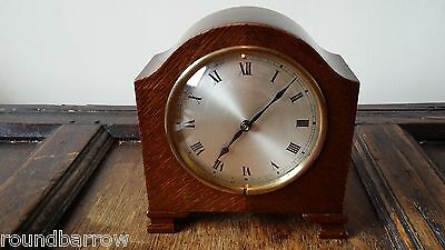 1920's Antique Hac German Mantel Alarm Clock