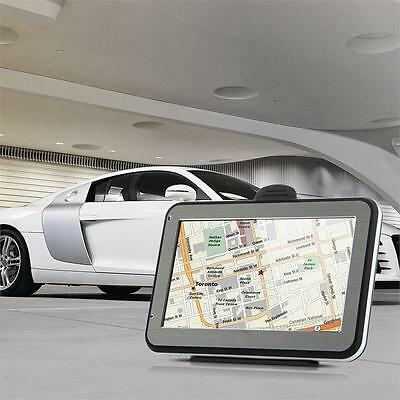 Truck Car GPS SAT NAV Navigation System Navigator Touchscreen FM SD Card Slot
