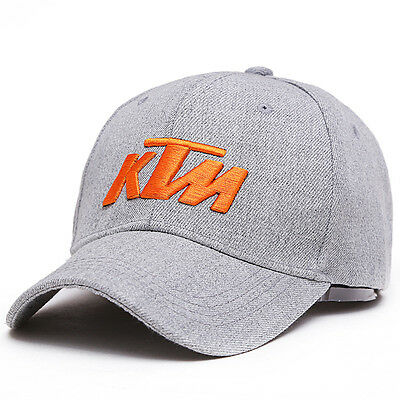 Adjustable Mens KTM Racing Team Hat GP Motor Motorcycle Baseball Cap Snapbacks