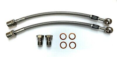 REAR HEL Conversion Brake Lines Hoses For VW Golf MK1 MK2 & MK4 Rear Calipers