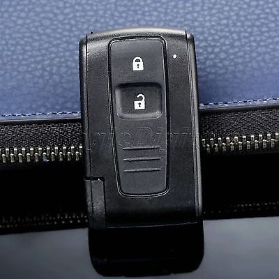 Remote 2 Button Key Shell Case Fob for Toyota Prius 04-09 Uncut Blade Replace