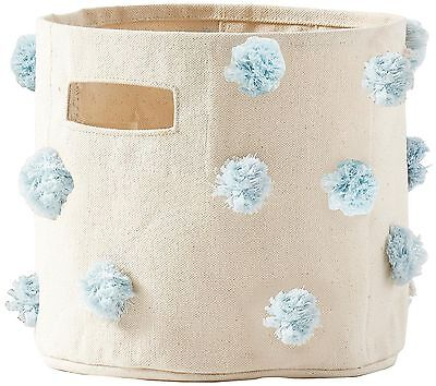 NEW Pehr Designs Pom Pom Mini, Blue  - petit pehr Newborn Baby STORAGE