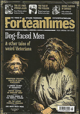 Fortean Times #274 - Dog-faced Men - Special Issue 2011
