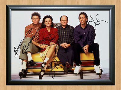 Seinfeld Michael Richards Cast Signed Autographed A4 Photo Poster TV Memorabilia