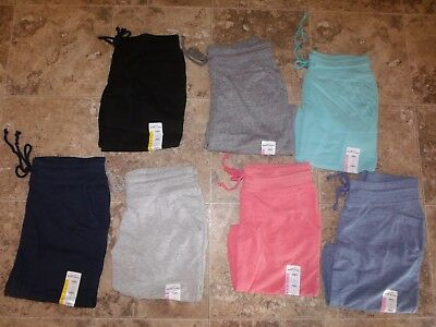 Nwt Womens Eddie Bauer Bermuda Shorts Heather Black Coral Gray Blue Aqua Navy