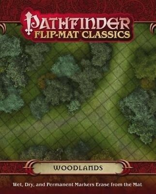 Pathfinder Flip-Mat Classics: Woodlands by Corey Macourek.