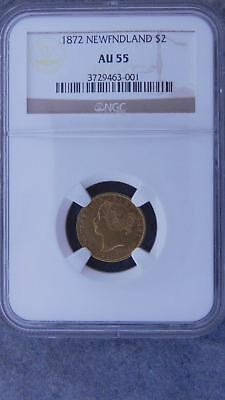 1872 New Finland $2 Gold Coin Graded By Ngc Au55 #3729463-001