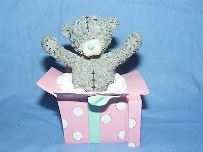 Me To You Teddy Blue Nose Bear A Surprise For You Birthday Gift 41232SKU Present