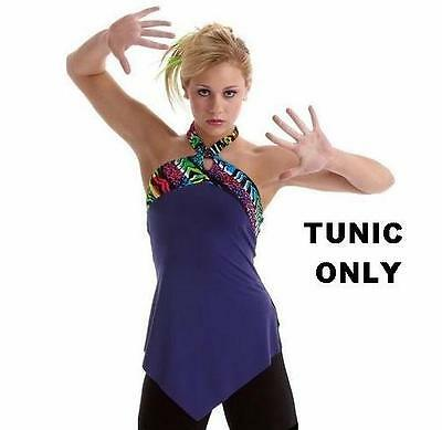 Congo Dance Costume TUNIC TOP ONLY Mix n Match Jazz Tap Clearance CL,AS,AL